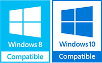 Compatible with Windows 8/10
